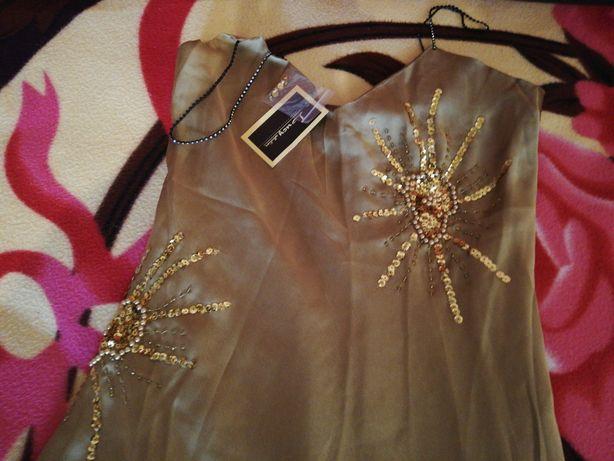 Vând rochie ocazie, lungă, model deosebit