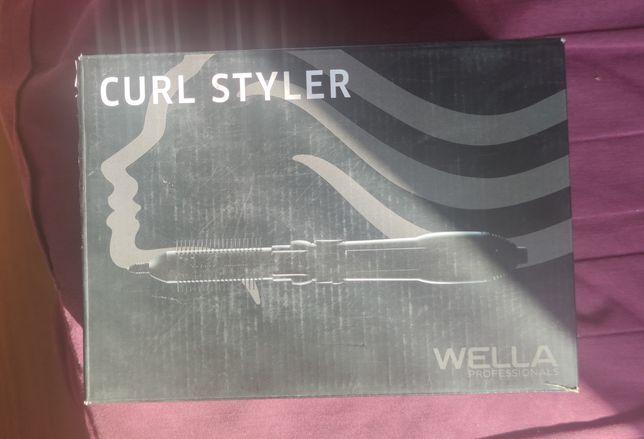 Фен-щетка,wella professional curl stayler 600
