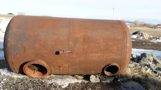 Бочка газгольдер ресивер толстостенная 5м3