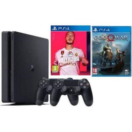 Видеоигры PS4. Fifa 20 & GOD OF WAR 4