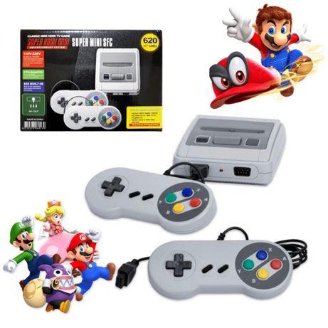 ТОП ТВ игра тип Нинтендо / Sega 620+ класически игри Nintendo подарък