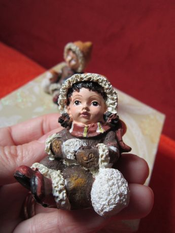 Craciun -miniatura vintage,handmade in Germany-un cadou inedit