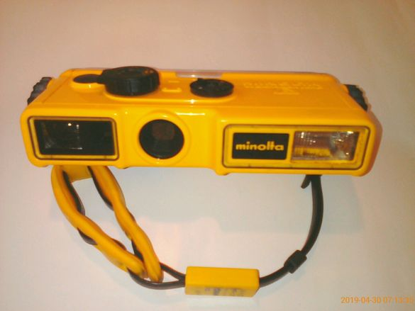 Водоустойчив фотоапарат Minolta Weathermatic A