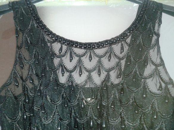 Дълга рокля + подарък чанта