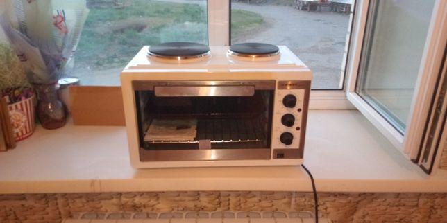 Электрическая печь с плитой