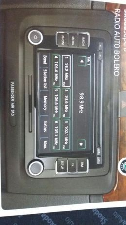 Radio auto cu mp3 skoda original !