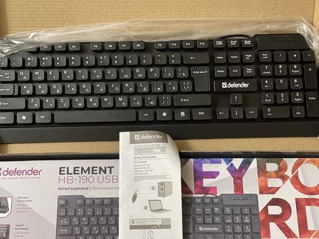 Продаю мембранную клавиатуру Defender. Новая.