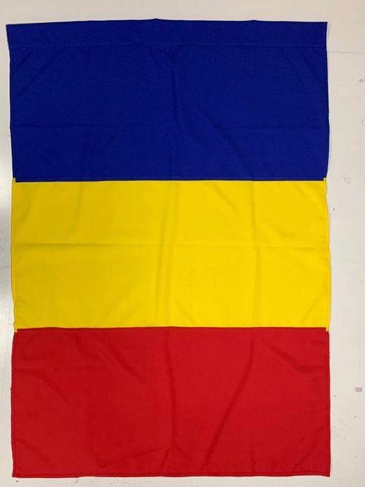 Drapel/Steag Romania 90/135 cm sau 1/3 m Bacau - imagine 1
