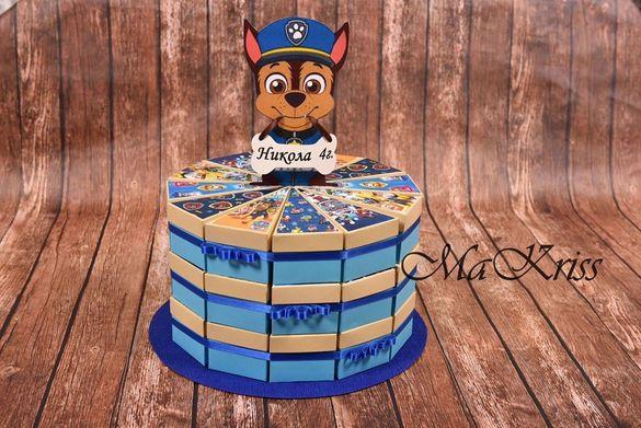 Картонена торта за рожден ден
