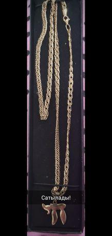 Продам золотую цепь и кулон