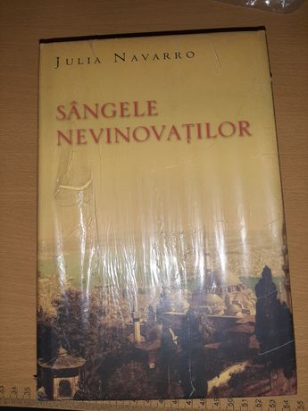 Sangele nevinovatilor de Julia Navarro, Sigilata in tipla - Carte rara