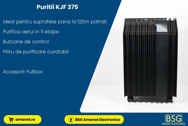 Purificator Aer Puritii KJF 375 - BSG Amanet & Exchange