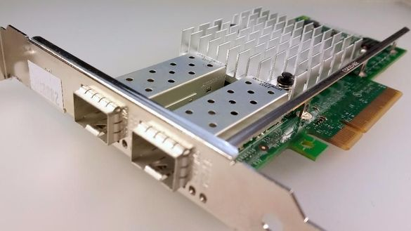Intel 10Gb X520-DA2 DP LAN Адаптер Dell VFVGR Cisco N2XX-AIPCI01 8259
