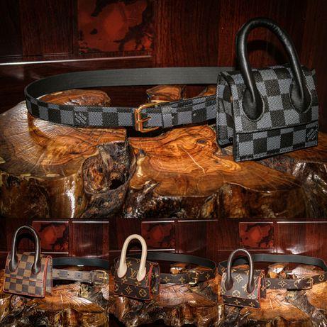 Нови!LV Louis Vuitton чанта,колан,протмоне.