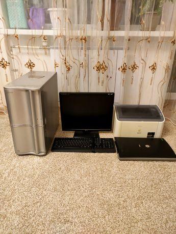 Продам компьютер и всё что на фото, торг уместен.