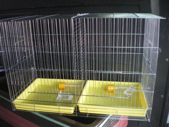 Клетка за канарчета двойна голяма XL , и за други птици