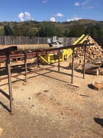Linie taiat si despicat lemne/ spargator lemn gandini 48