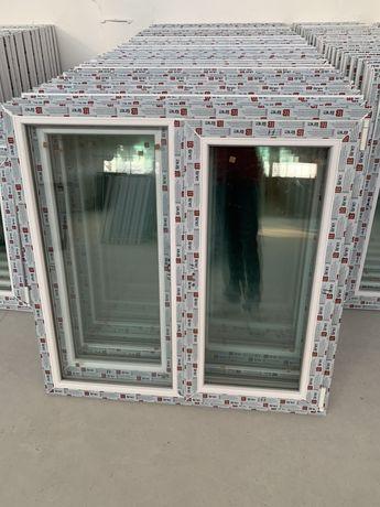 fereastra pvc cu geam termopan