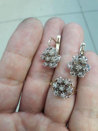 Комплект бриллиант