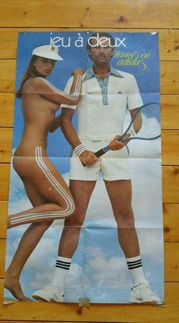 Poster vintage Adidas anii '70