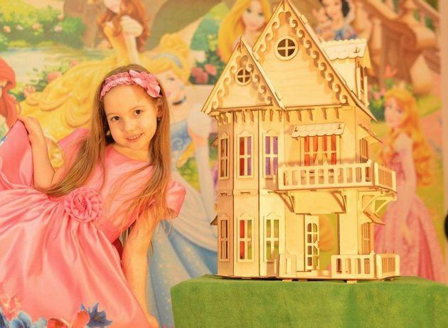Новинка! Игрушечный кукольный деревянный домик