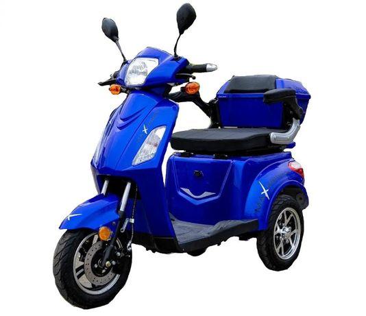 -50% Tricicleta Electrica Maxi Albastr Model 2020 , factura , garantie