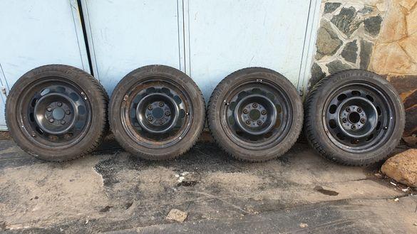 Джанти 16 5х120 с гуми 195 55 16 гуд йър