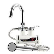 Проточен бойлер с дисплей и подвижен душ за плот или за стена