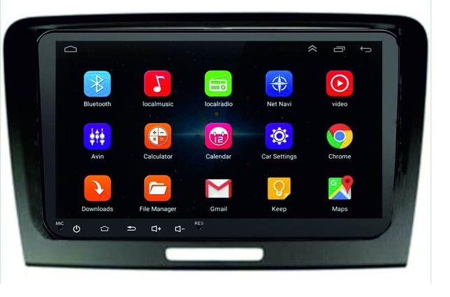 Navigatie dedicata Skoda Superb 2-B6 9 inch Android+Rama speciala Can