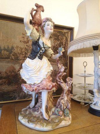 Statuetă ceramică italiană 68 cm