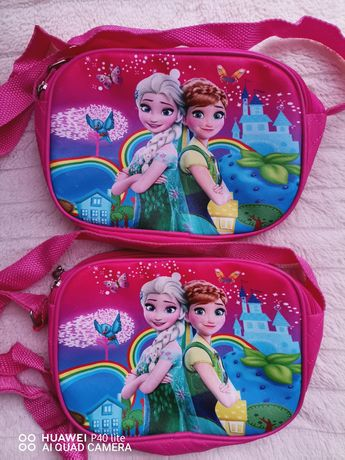 Детска чанта Елза и Анна