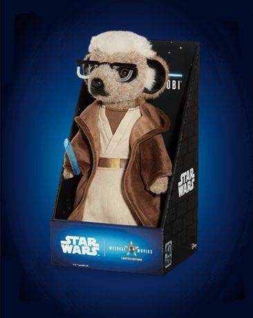 Jucarie Plush Sergei as Obi Wan Kenobi Star Wars 27 cm