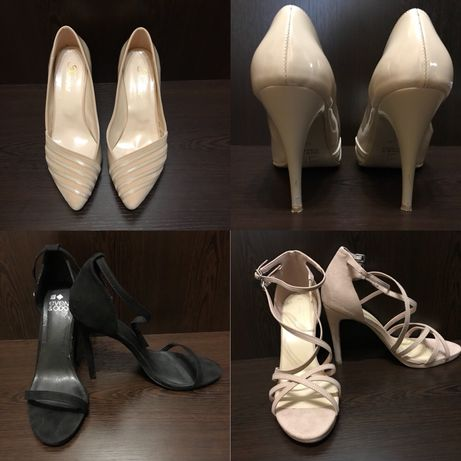Сандали на ток: New Look и Even & Odd и обувки на ток