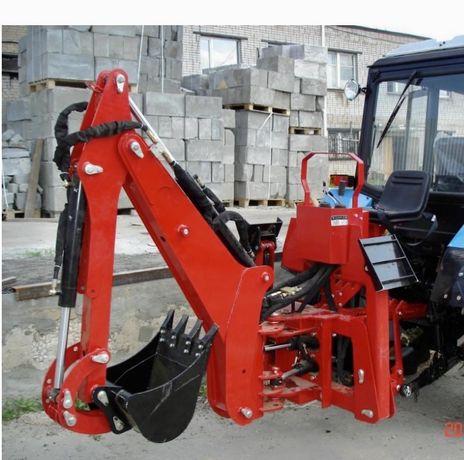 Навесной экскаватор на трактор МТЗ 82