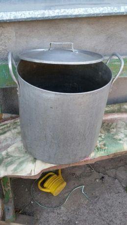 Продам аллюминевую 40 литровую кастрюлю с крышкой