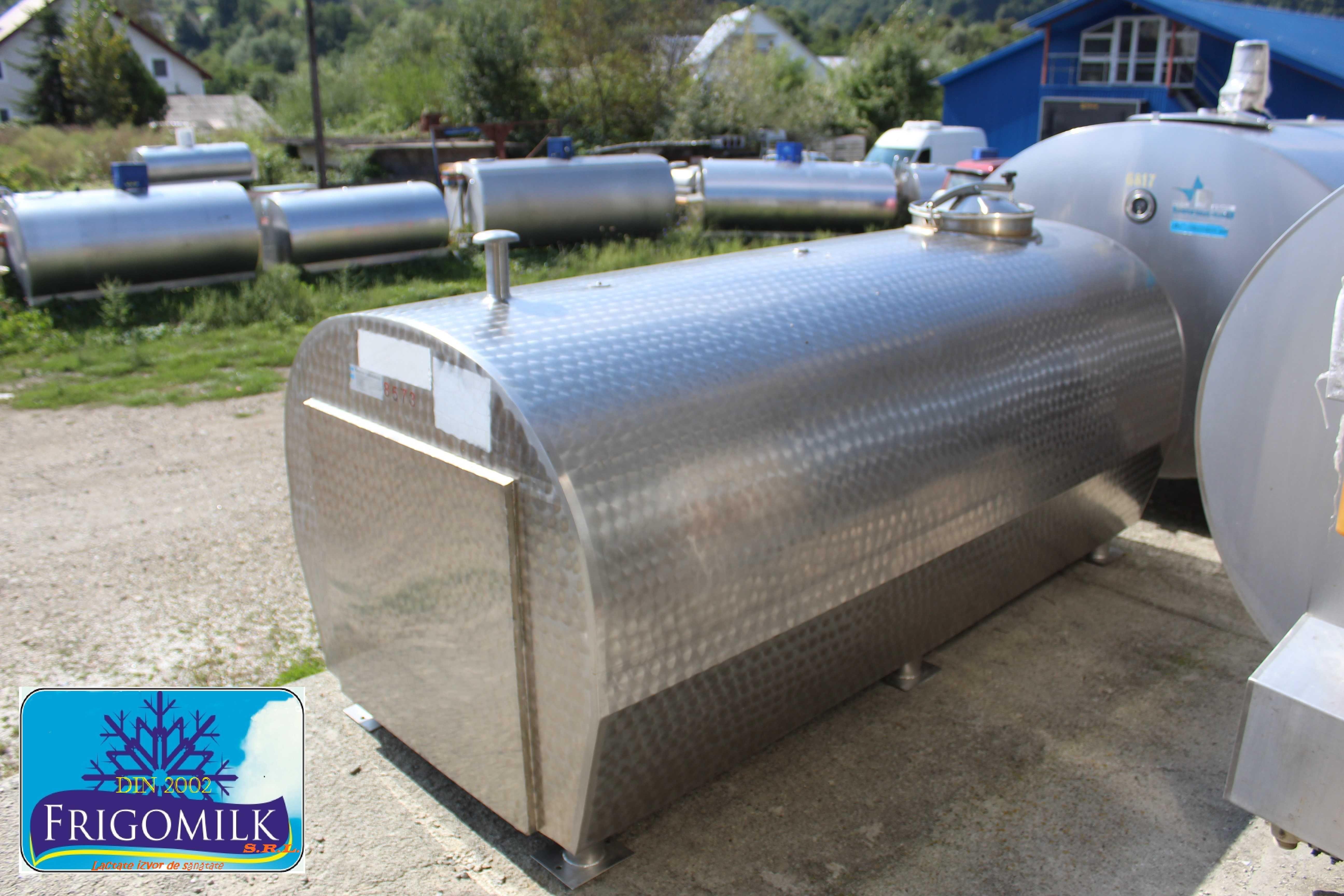 Cisterna transport  2000 litri izolata , bazin inox , rezervor , tanc