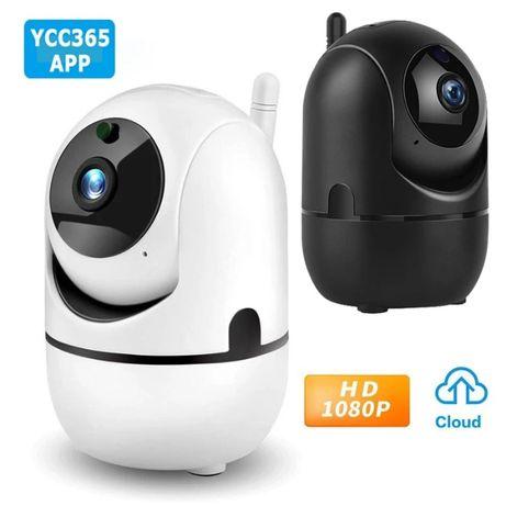 WiFi безжична IP камера FULL-HD 1080P бебефон нощно виждане