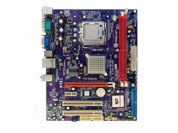 Материнская плата ECS P4M900T-M2 (V1.0)