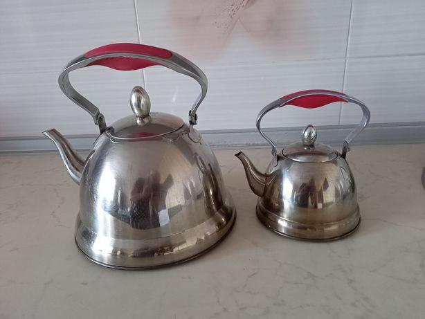 Продам чайник с заварным чайником