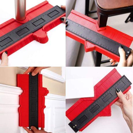 Profil 25cm, calibru, copiere contur/profil, marcaj lemn