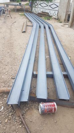 Vând structura metalică 8x20 Schelet metalic, confecționată din profil