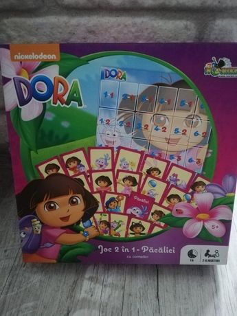 Joc Educativ Pacalici cu Complici 2 In 1-Dora Exploratoarea