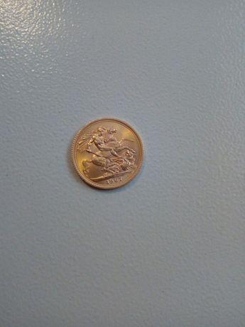 Vând monedă din aur! S-au schimb cu două inele Bulgari!