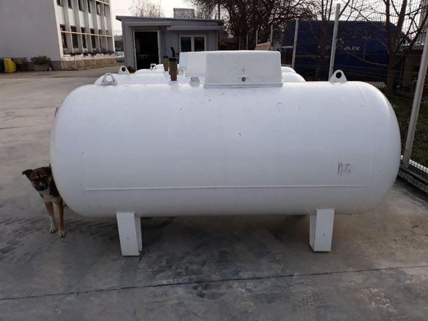 Rezervor bazin GPL gaz 1000 L suprateran orizontal