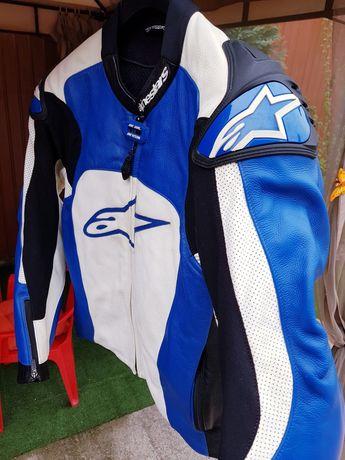 Geacă moto Alpinestars (50) piele / originală!