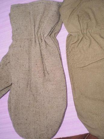 Брезентови ръкавици и престилки