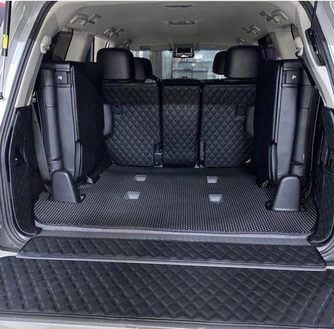 3D полики/коврики на багажник