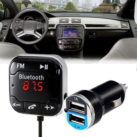 Фм Блутуут трансмитер модулатор . New Bluetooth Handsfree . CAR KIT