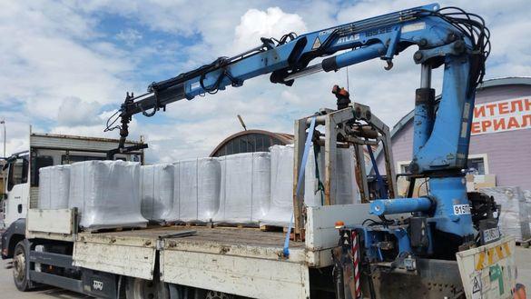 Транспортни услуги с бордови кран, транспортна техника в страната