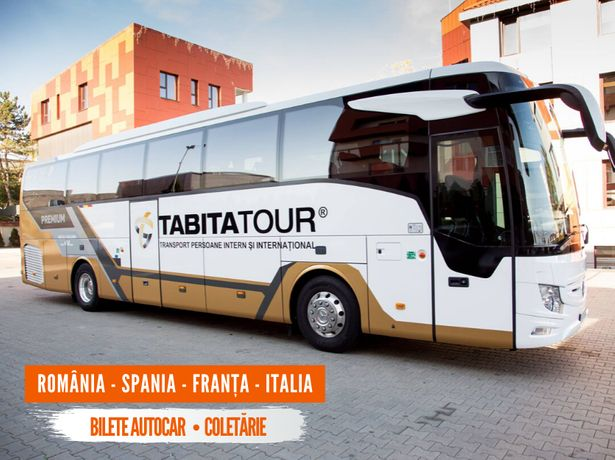 Transport persoane si colete din BOTOSANI spre Spania, Italia, Franta
